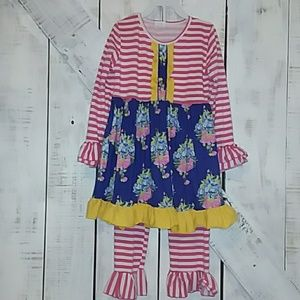 Other - Tunic with matching leggings size 7